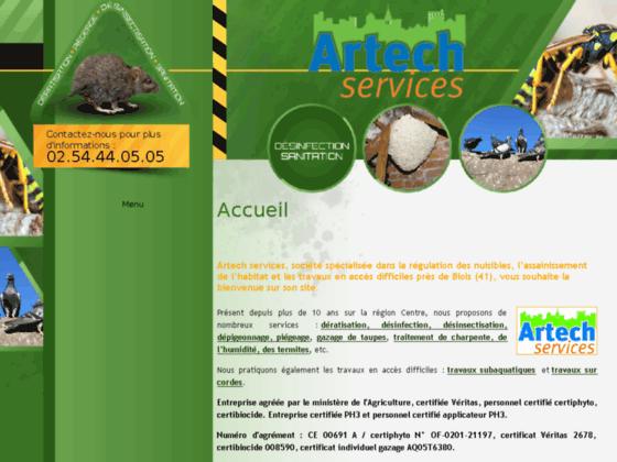 Détails : Artech Services : Désinsectisation près de Blois (45)