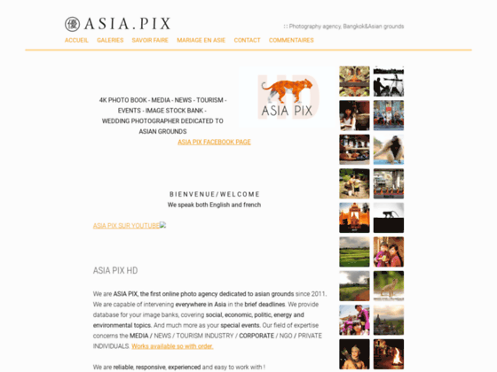 Photo image Asia Pix photo agency dedicated to Asian grounds