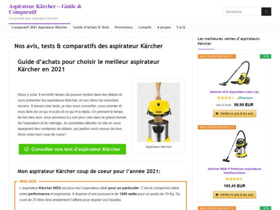 Détails : Aspirateur Karcher