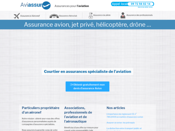 Photo image Assurance Avion