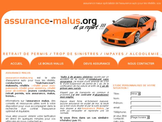 Détails : Assurance Malus