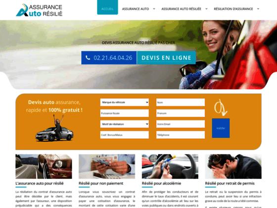 Détails : assuranceautoresilie.fr