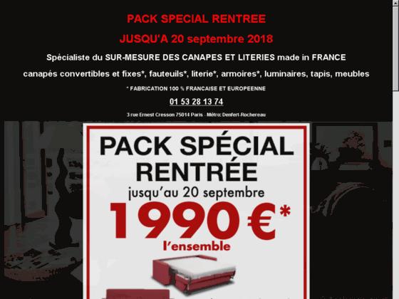 Détails : magasin de meuble paris