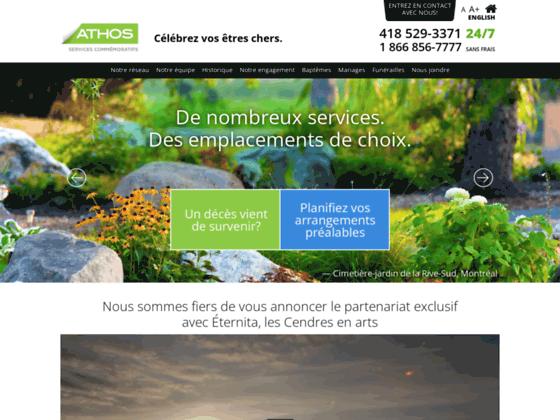 Détails : Athos Services Commémoratifs