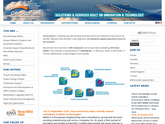Photo image Air Transport Services - Groupe Aeroconseil