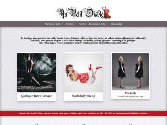 Au Petit Diable - Boutique en ligne gothique
