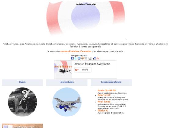 Photo image Aviation française, un siècle d'histoire - Aviafrance