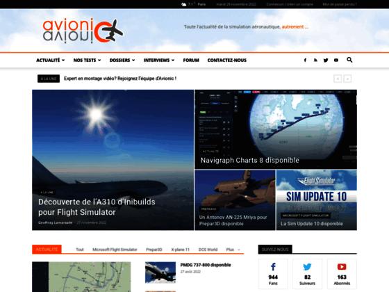 Photo image Avionic-Online : Toute la simulation aéronautique, autrement !