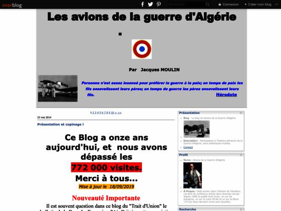 Photo image Le blog de Avions de la Guerre d'Algérie