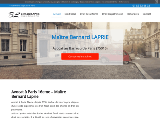 image du site http://www.avocat-bernard-laprie.fr