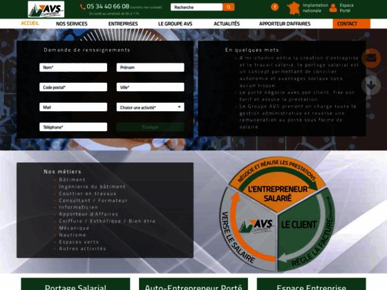 Détails : Groupe AVS et le portage salarial