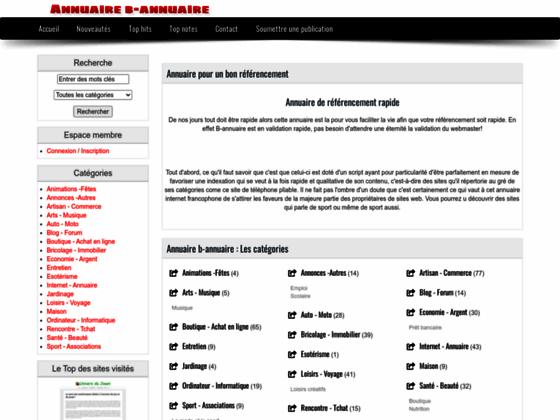 Détails : Annuaire - b-annuaire.net