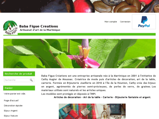 Photo image Artisanat et bijouterie de la Martinique