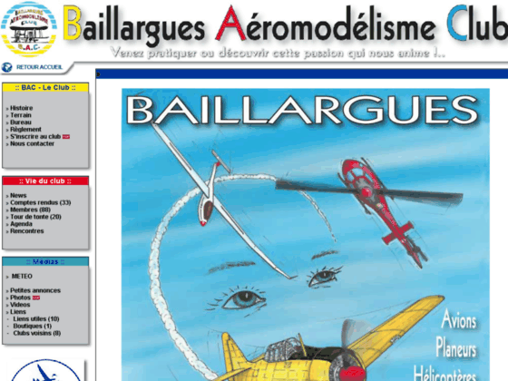 Photo image Baillargues Aéromodélisme Club - Les news