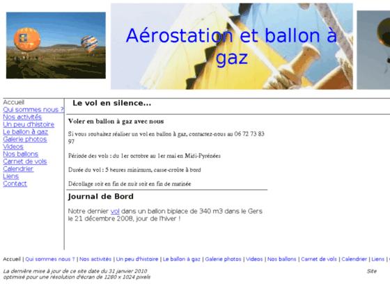 Photo image aerostation et ballon à gaz