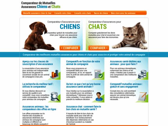 Détails : Comparateur Mutuelles chiens et chats