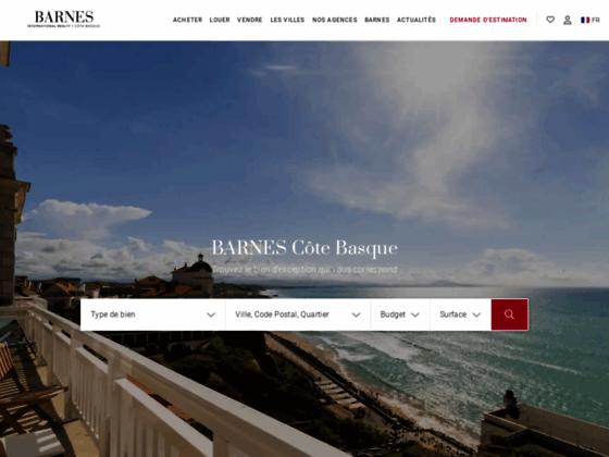 Détails : agence immobilière cote basque