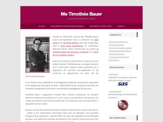 Détails : Me Timothée Bauer