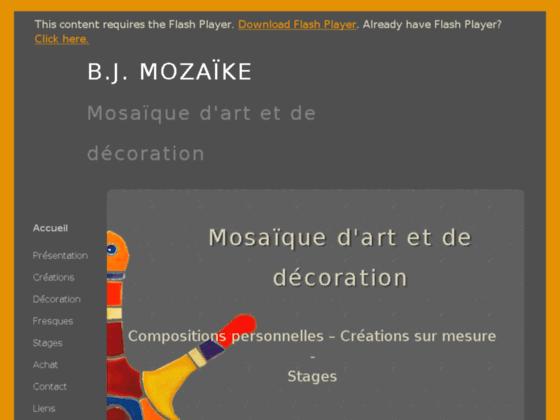 Photo image beji-mozaike, la mosaique au service de l'art. des creations originales. des stages d'initiation, de