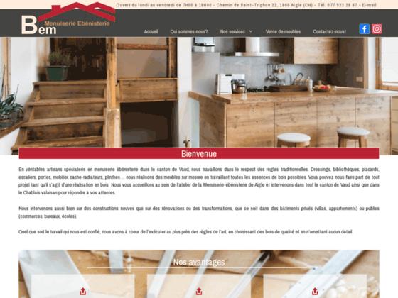 image du site http://www.bem-menuiserie.ch