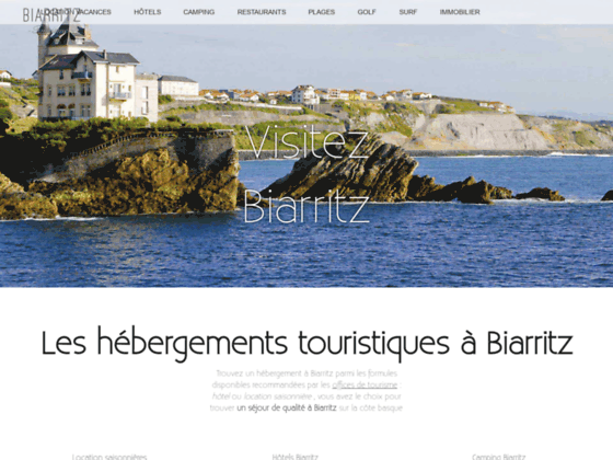 Détails : tourisme Biarritz