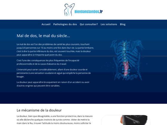 Photo image Mal de dos : Soulagez votre mal au dos avec BienDansSonDos