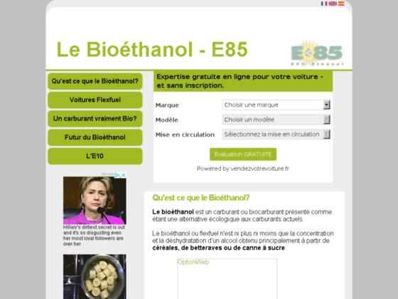 Détails : Bio-Carburant écologique