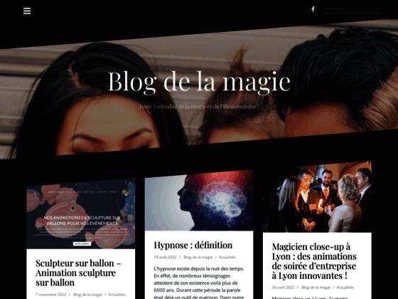 Détails : Blog de la magie