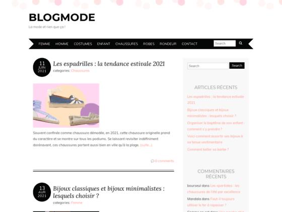 Détails : Blogmode la mode et rien que ça