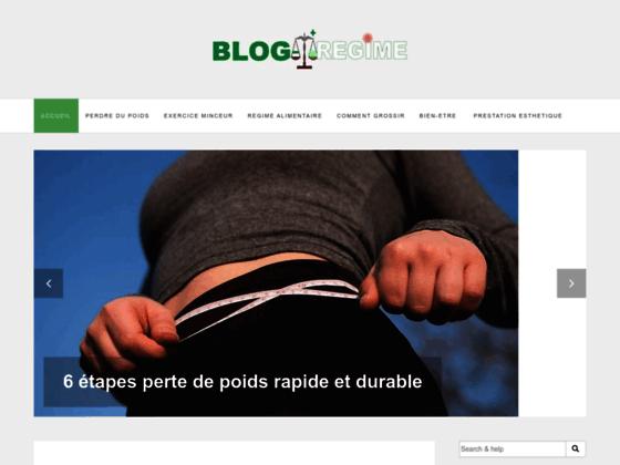 Détails : Blogregime : blog pour maigrir intelligemment