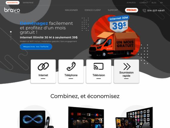 Détails : Compagnie internet et téléphonie - Bravo Telecom