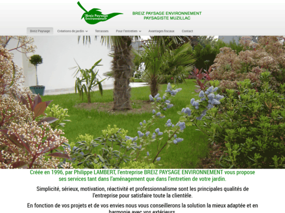 Photo image Breiz Paysage - Votre paysagiste conseil a Muzillac - Bretagne sud Morbihan