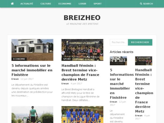 Breizheo, magazine complet sur la Bretagne