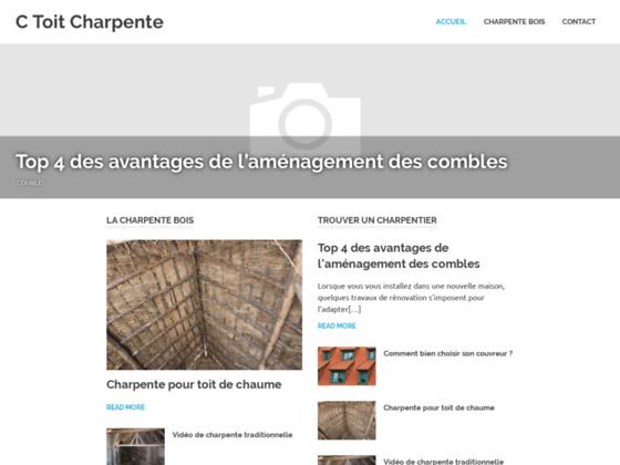 Détails : Charpente Var - C-TOIT