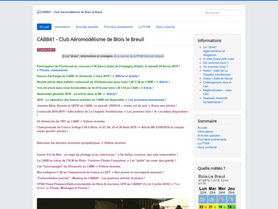 Photo image CABB 41 club aeromodeliste de blois le breuil - Modelisme - loir et cher
