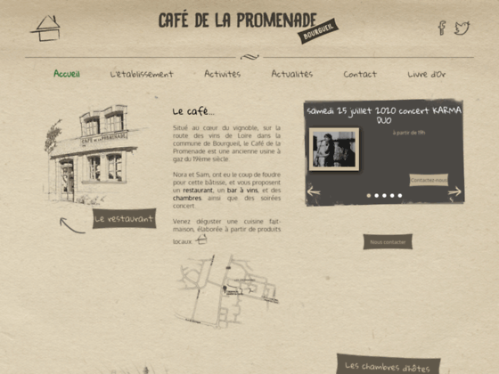 image du site https://www.cafedelapromenade.com/