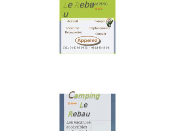Détails : Camping Agde, le Rebau