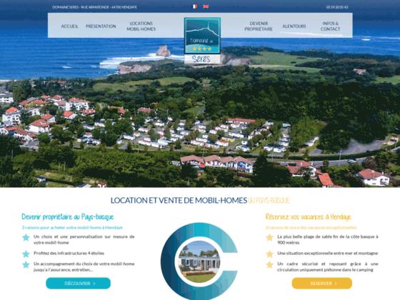 Détails : location camping pays basque
