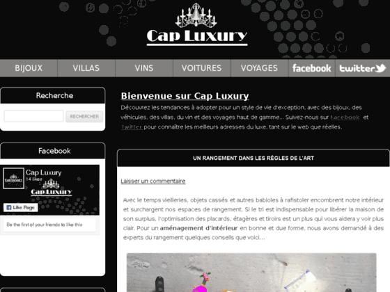 Cap-Luxury, Votre blog luxe et prestige !