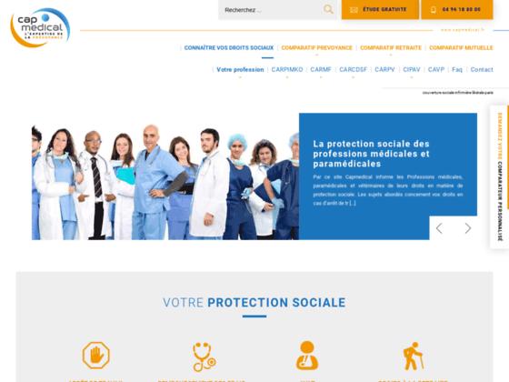 Détails : Cap Médical, protection sociale des professions libérales