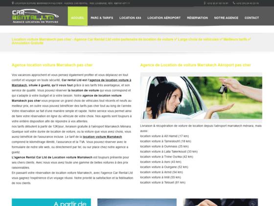 Détails : location de voiture à marrakech