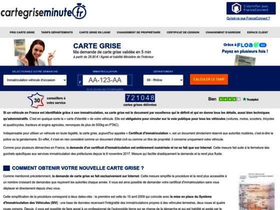 Détails : cartegriseminute.fr