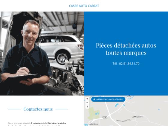 Détails : casse auto