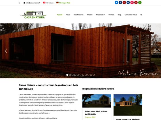 Détails : Maison en Bois Casas Natura France
