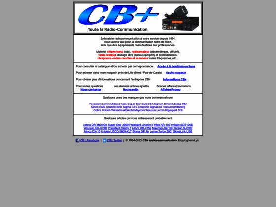 Détails : CB+ magasin radioamateur