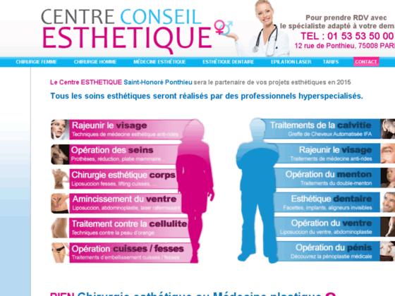 Détails : chirurgie esthétique paris
