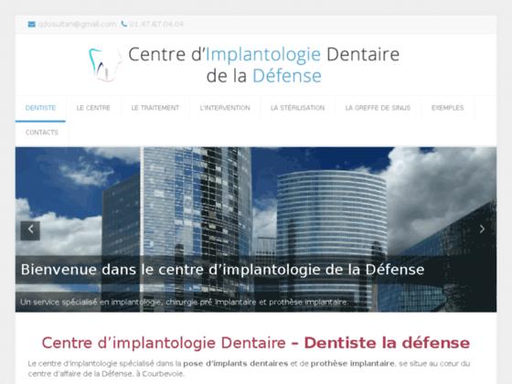 Détails : Centre d'implantologie dentaire