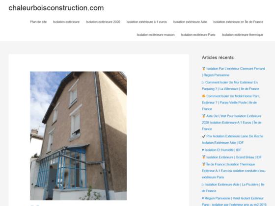Détails : Constructeur de maison ossature bois et phyto épuration