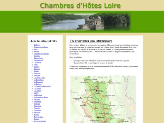 Détails : Gites et chambres dans le département de la Loire