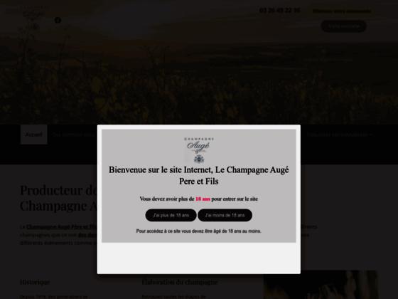 Détails : Producteur Champagne Augé, dégustation de champagne Reims